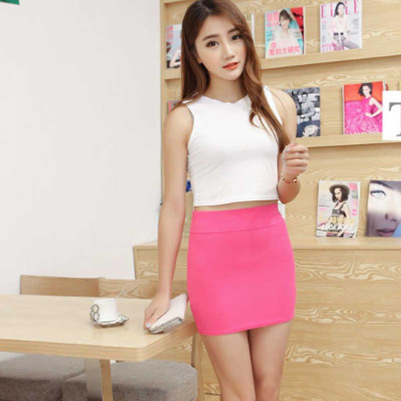 Cheerleader Micro Mini Skirts 2019 Summer Sexy Girls Skirts Casual Package Hip Short Skirts Women Tight