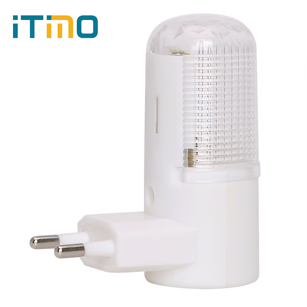 Home Lighting 3W Bedside Lamp LED Night Light Wall Lamp EU Plug Energy-efficient Wall Mounted Emergency Light 4 LEDs