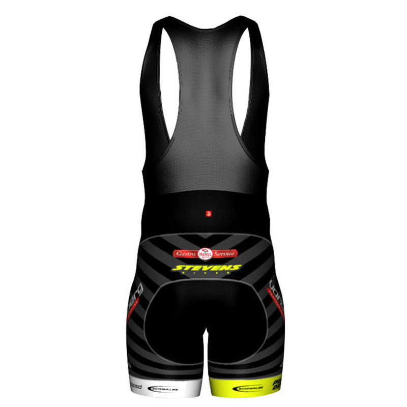 Jakroo Professional Team Vorarlberg Uiform Cycling Bib Shorts Fans Model Highly Elastic Cycling Clothing With Belgian TS Cushion