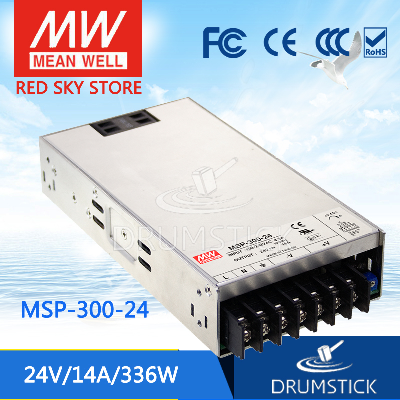 Selling Hot MEAN WELL MSP-300-24 24V 14A meanwell MSP-300 24V 336W Single Output Medical Type Power Supply