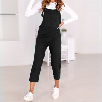 Vintage Women Suspender Trousers