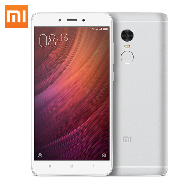 Оригинал Xiaomi Redmi Note 4 смартфон 3 ГБ RAM 32 ГБ ROM 5.5 дюймов 1080P MTK Helio X20 Deca Core телефон 13MP Металлический Корпус