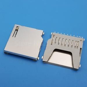 Image 2 - 100個sdメモリカードソケットアダプタ基板実装コネクタ