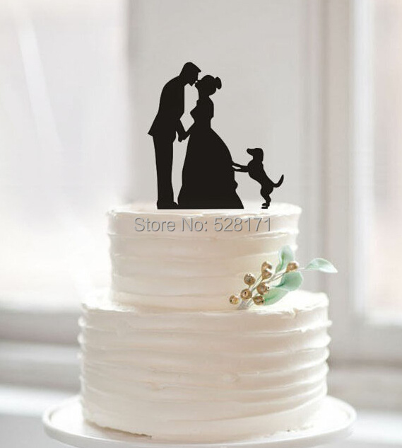 wedding cake topper stands aliexpress buy free shipping acrylic silhouette 26607