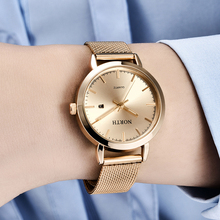 Reloj Mujer NORTH Women Watches Luxury Brand Gold Quartz Lad