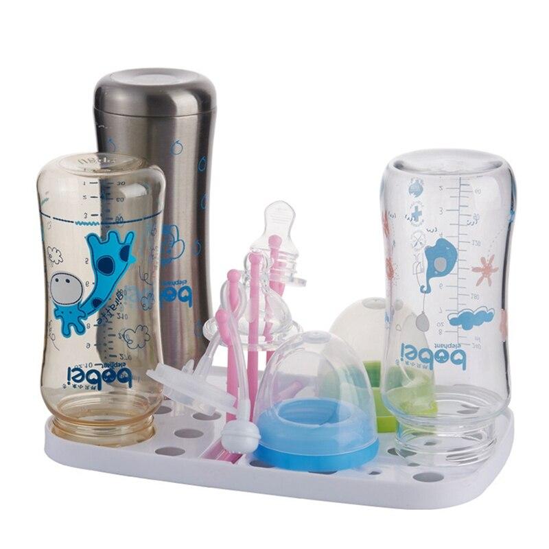1PC New Mini Baby Detachable Feeding Bottle Drying Rack Nipple Shelf Pacifier Holder