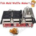 Форма для вафель рыбы  коммерческий аппарат для приготовления рыбьей чашки  антипригарная конусная машина для мороженого в форме рыбы  NP-784