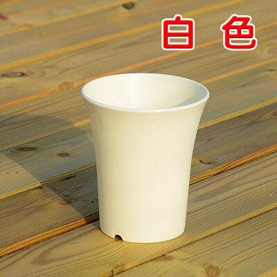 plastic pots pot Vientiane resin flower pots bonsai succulents orchid flower pot 3 / pk