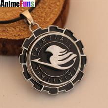Black and Silver Fairy Tail Pendant