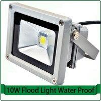 Бесплатная доставка Светодиодный прожектор Открытый стены прожекторы светодиодные прожекторы 10 Вт прожектор 12 В 120 В 220 В RGB