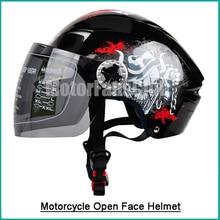 Мотоцикл Открытым Лицом Шлем Велосипед Мотоциклов Мотокросс ATV Off Road UTV Байк Шлем С Козырьком Гоночный Передач Ml XL
