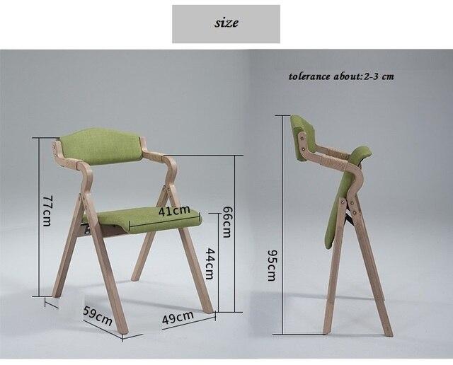 Sgabello In Legno Pieghevole : Società verde sedia pieghevole sgabello struttura in legno mobili