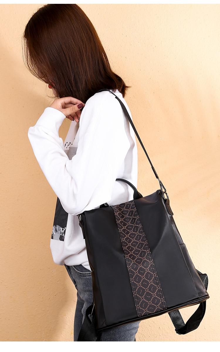 Fashion Women Backpack Rucksack backpacks for women,backpack bags,backpack oxford outdoor Black 32cm*32cm*15cm 42
