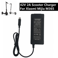 42V 2A Electric Skatebaord Adapter Scooter Charger For Xiaomi Mijia M365 Electric Scooter Bike Accessories EU