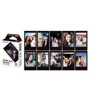Fujifilm Instax Mini 8 фильм 10 листов Fuji черные края фотобумага для Polaroid мини 8 50 s 7 s 90 25 поделиться SP-1 мгновенный Камера