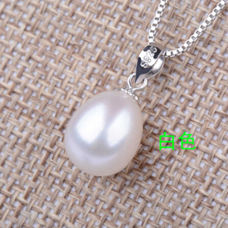 Sinya 925 sterling silber perle schmuck set für frauen mit süßwasser perle anhänger halskette bolzen ohrring ganze set edlen schmuck