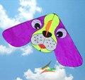 O envio gratuito de alta qualidade 10 pçs/lote grande cão ouvido hcxkite polvo pipa pipa voando brinquedos crianças pipa dragão atacado fábrica