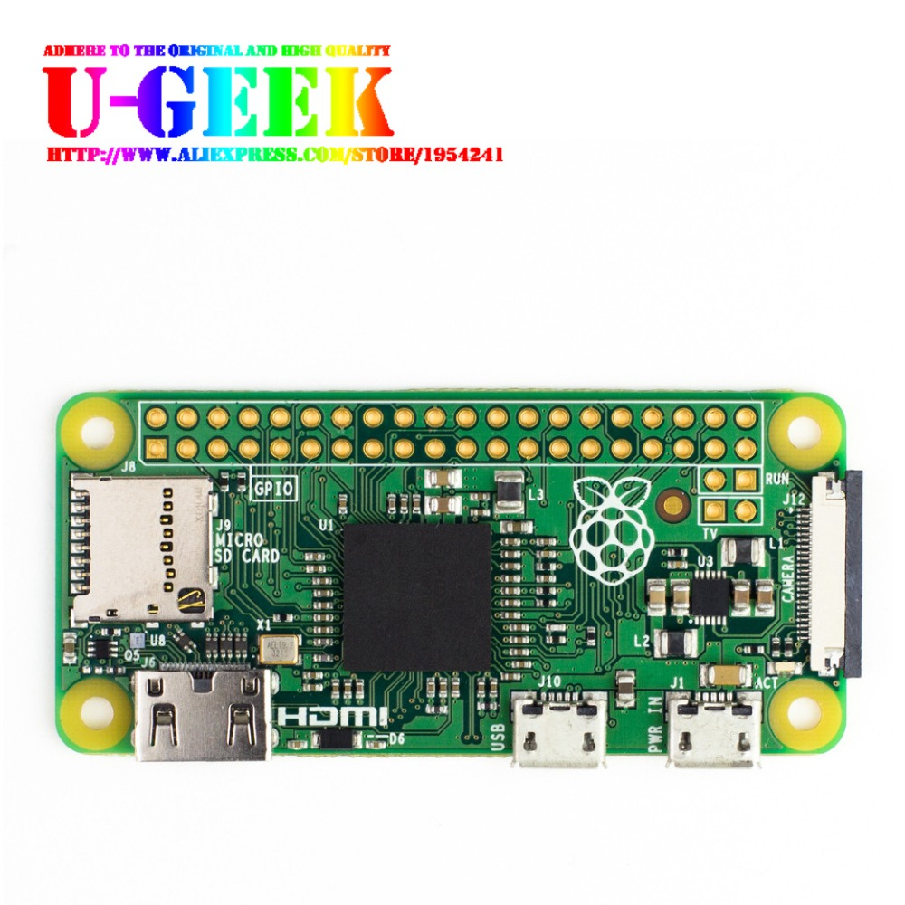 Raspberry Pi Zero Board Camera Version 1.3 With 1GHz CPU 512MB RAM Linux OS 1080P HD Video Output|Pi Zero