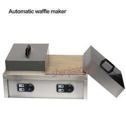 Elektryczna maszyna do gofrów handlowa maszyna do pieczenia gofrów automatyczna maszyna do gofrownic naleśnik nowy sprzęt przekąskowy 220v