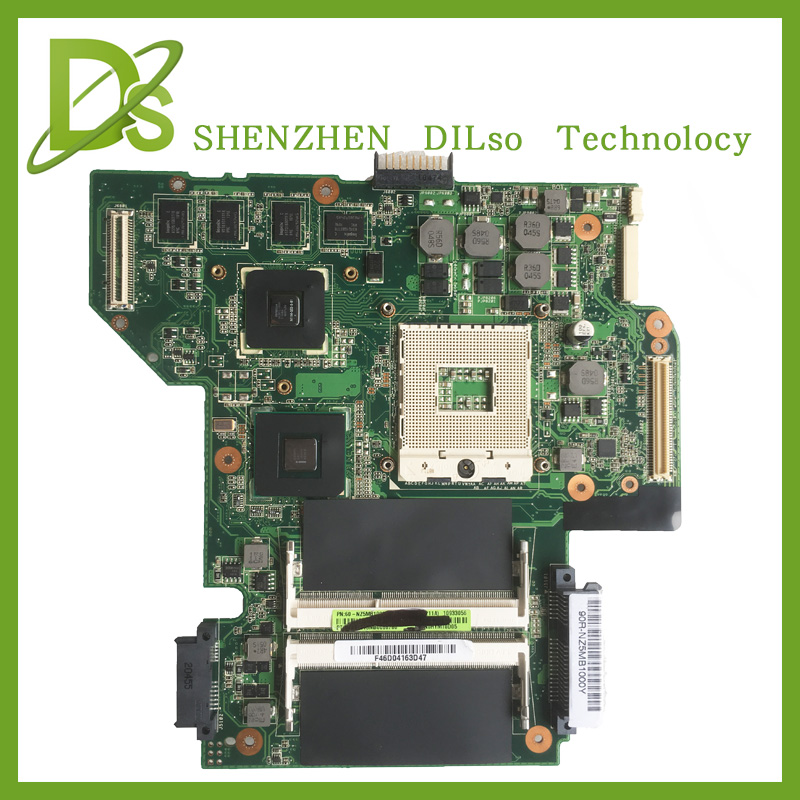 все цены на KEFU U53JC motherboard For ASUS U53JC laptop motherboard original new motherboard U53JC REV2.1  100% tested онлайн