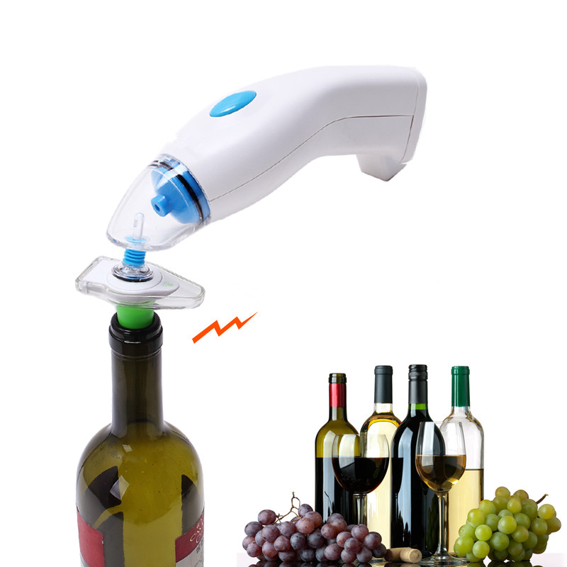 Vacuum Sealer Red Wine Champagne Bottle Preserver Air Pump Stopper Vacuum Sealed Saver Wine Vacuum Stopper Wine Vacuum Air Pump