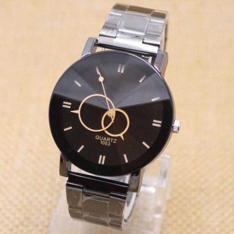Freeship Mens Watches Luxury Brand Steel Men Watches Mens Business Watches Waterproof Quartz Watches Relogio Masculino