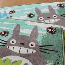 Totoro with Friends In Forest Carpet