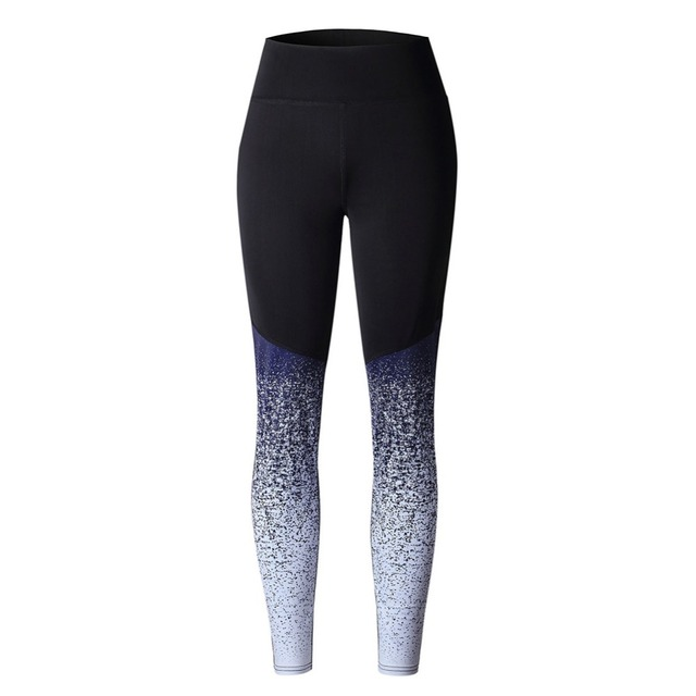 2019 Hot Women Yoga Pants Compression Tights Female Slim Sports Clothing Sport Pants Seamless Leggings Fitness Running Tights 5
