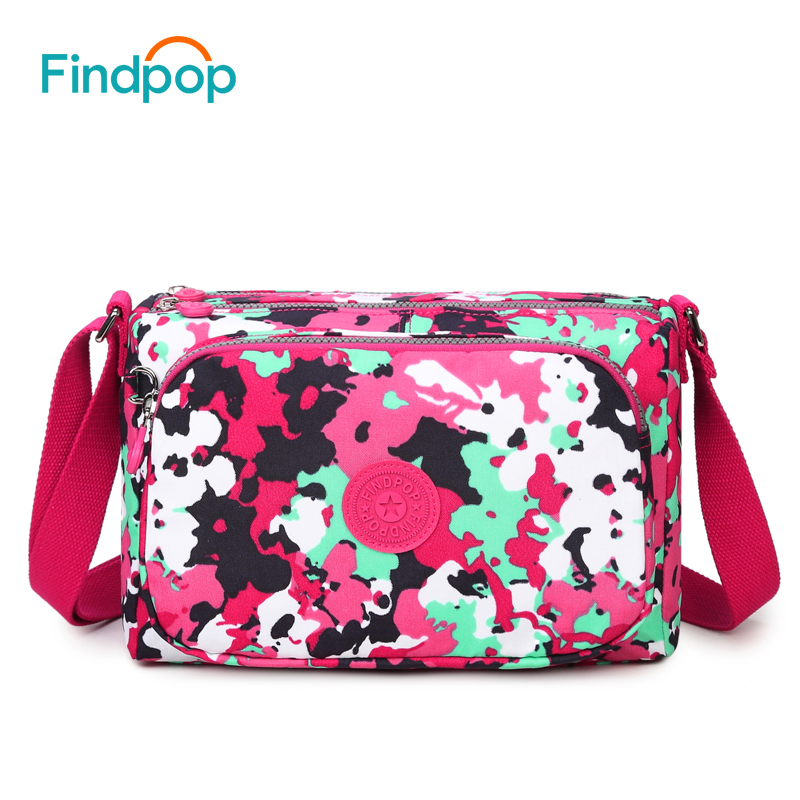 Findpop bolso de mensajero bolsas de hombro bolsa de tela de lona de las mujeres