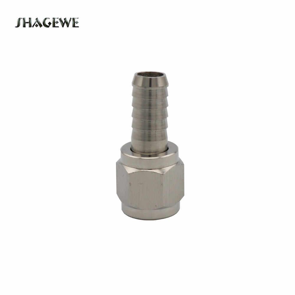 "Stainless Steel Swivel Nut, 1/4"" or 5/16'' Ball Lock MFL Disconnect fitting, Quick Connectors fitting Home Brewing Hardware"
