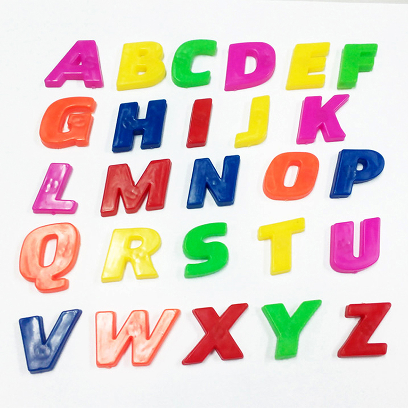 26 alphanumeric letters numbers fridge magnet stickers kids math toys educational learning toys p15 in math toys from toys hobbies on aliexpresscom