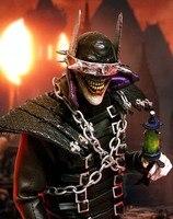 Пользовательские 1/6 масштаб темные ночи металлический 01 Бэтмен который смеется фигурку игрушки хобби Коллекция Стандартный Edition