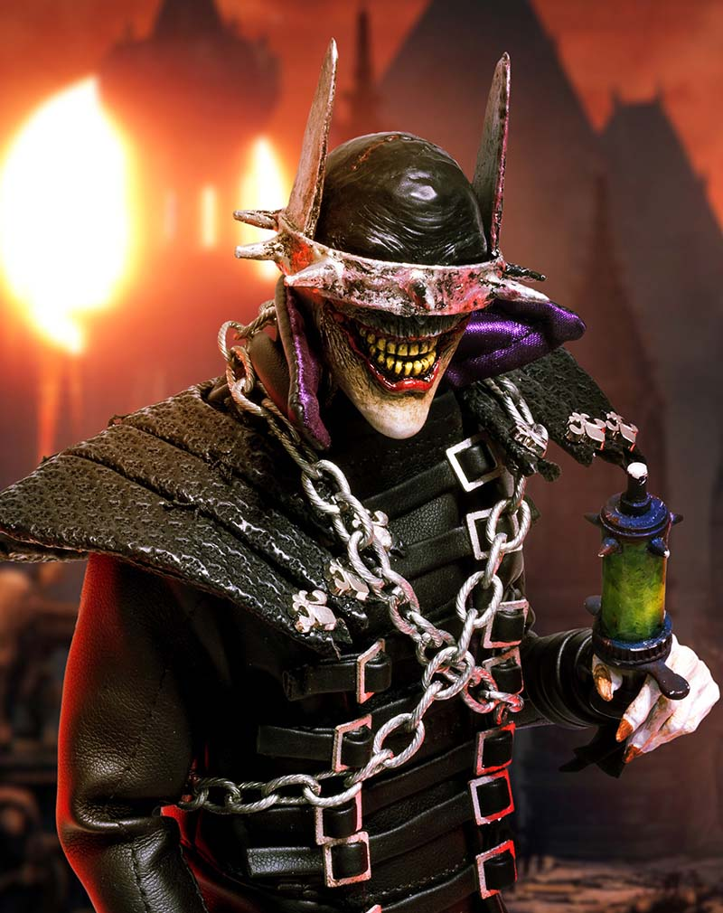 лучшая цена Custom 1/6 Scale Dark Nights Metal 01 The Batman Who Laughs Action Figure Toys Hobbies Collection Standard Edition