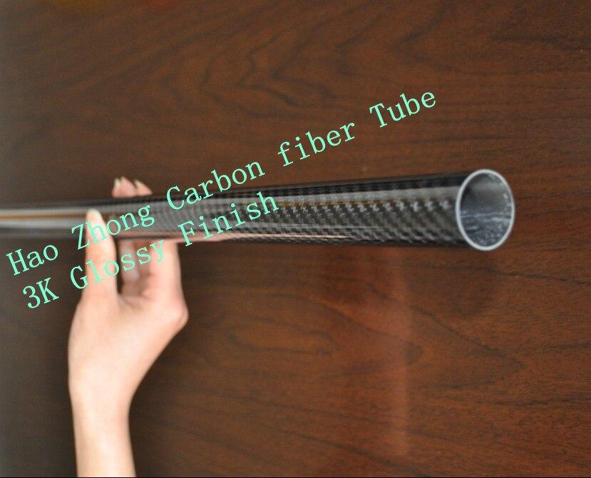 1pcs 22MM OD x 20MM ID Carbon Fiber Tube 3k 500MM Long with 100% full carbon,  Quadcopter Hexacopter Model DIY 22*20*500 1sheet matte surface 3k 100% carbon fiber plate sheet 2mm thickness