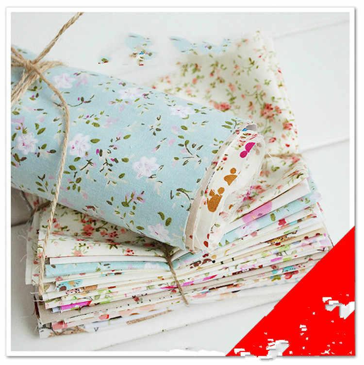 Costura DIY handmade home textile vestuário série de grandes peças de pequeno estilo fresco 25*38 cm de tecido de algodão tecido