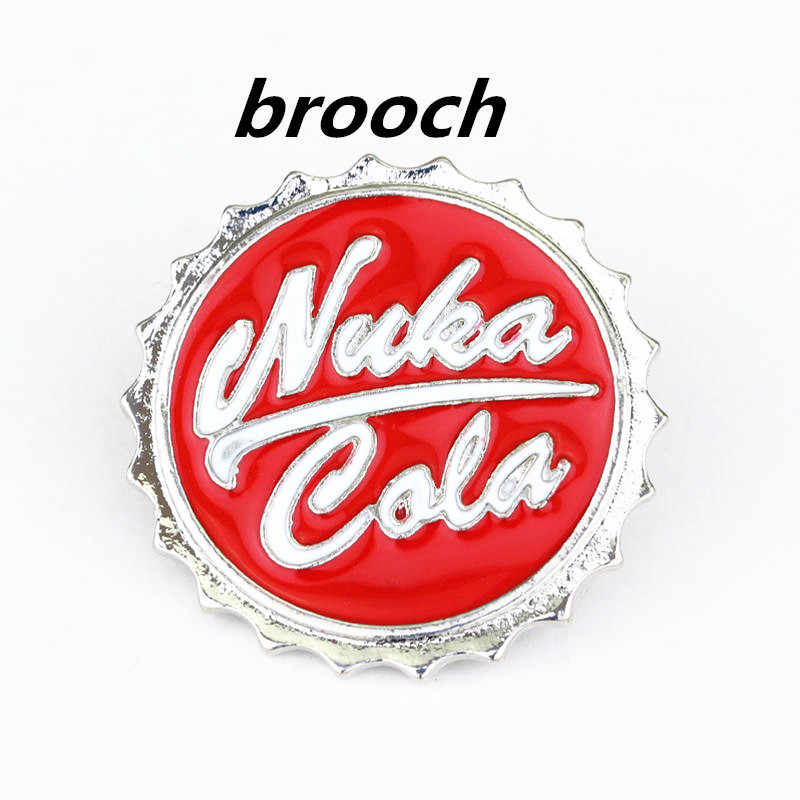Game Nuka Cola botter opener brooch Pendant Pin Boy Jewelry Gift For Car Key Holder Cosplay Accessories Gift