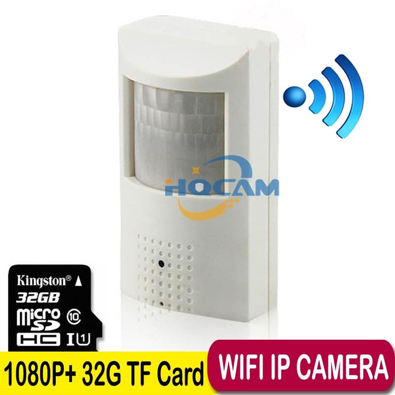 TF Card 1080P HD 1/2.8'' SONY IMX323 Sensor Ultra Low Illumination IP Camera WIFI Security Camera IP Wireless Outdoor P2P Camera