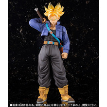 лучшая цена Hot Akira Toriyama Comic Anime Dragon Ball Z Super Saiyan Trunks Figuarts ZERO EX 23cm Action Figure Limited Edition