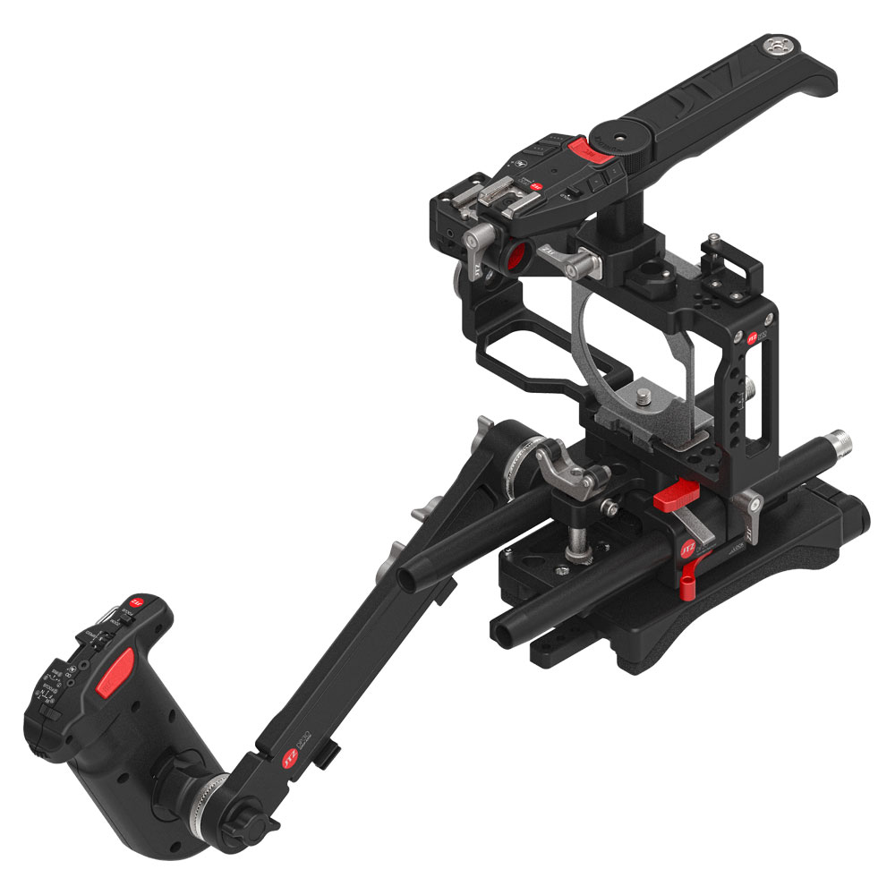 JTZ DP30 Cage Baseplate Shoulder Rig For BMPCC Blackmagic Pocket Cinema Camera jtz dp30 camera cage baseplate rig for blackmagic ursa mini 4k 4 6k ef pl cinema