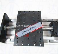 Ballscrew linear slides GX150*155mm 1605 1610 700mm Effective Travel Nema 23 Stepper Motor Stage Linear Motion double block