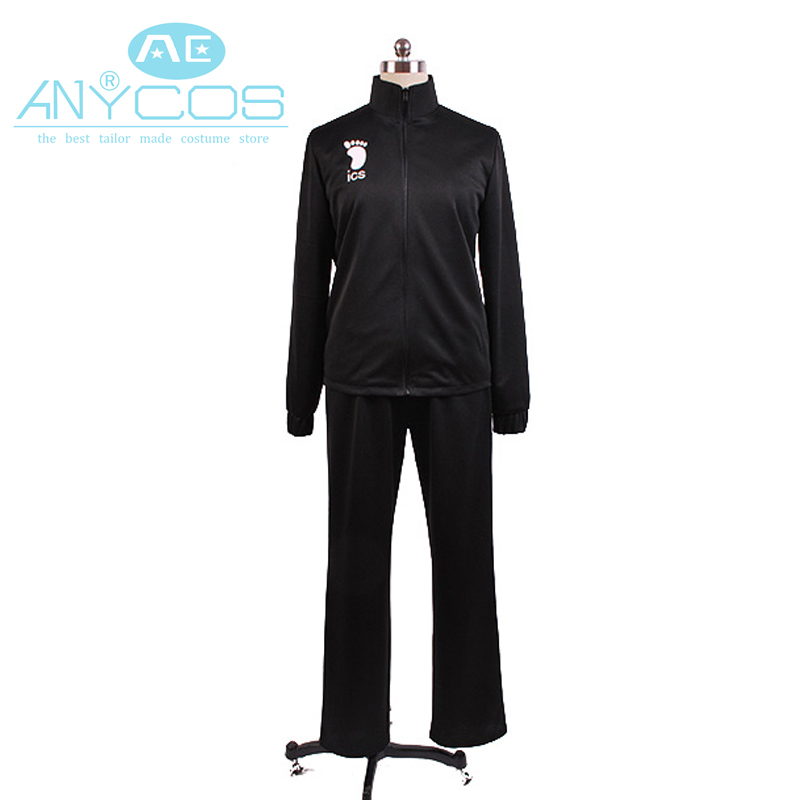 Haikyu Haikyuu!! Kiyoko Shimizu Karasuno High School Volleyball Sportswear Club Uniform Jersey Jacket Pant Cosplay Costume