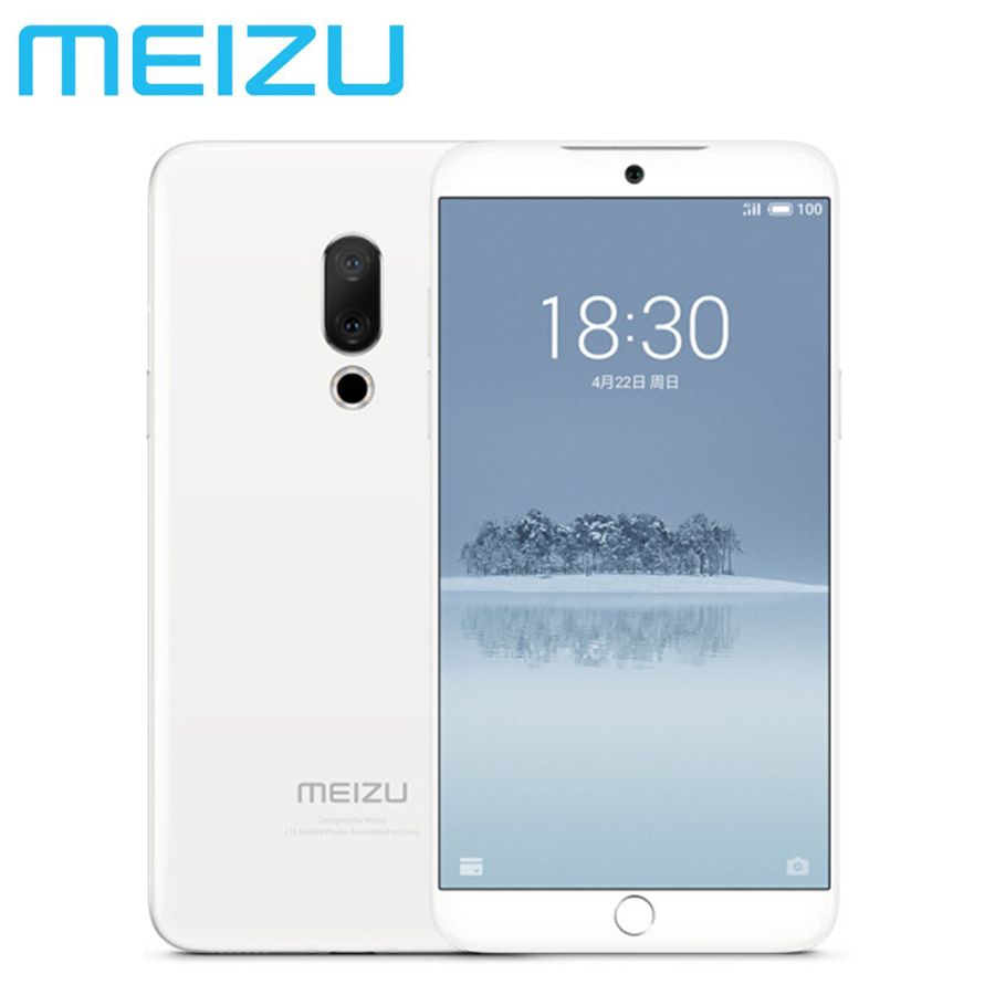 100% téléphone portable d'origine MEIZU 15 4G LTE double SIM 20MP Snapdragon660 Octa Core 4 GB + 128 GB 5.46 pouces 1080x1920 p téléphone portable Android