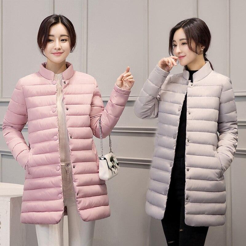 ФОТО TX1124 Cheap wholesale 2017 new Autumn Winter Hot selling women's fashion casual  warm jacket female bisic coats