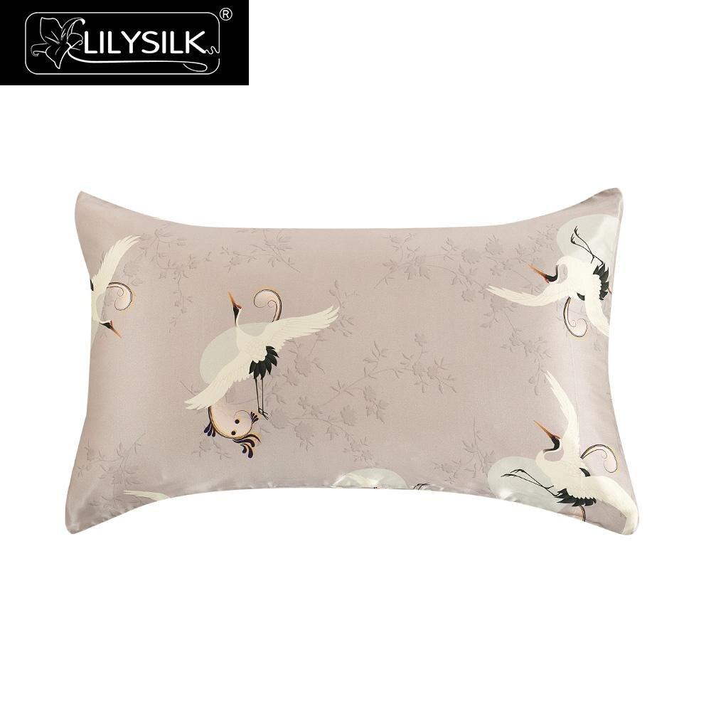 Lilysilk 16 Momme Terse Silk Pillowcase Hidden Zipper