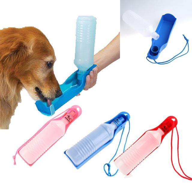 350ml Potable Pet Dog Cat Water Feeding Drink Bottle Dispenser