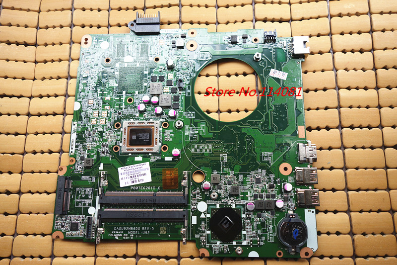 Подробнее о Free shipping Netebook Motherboard For HP Pavilion15-N Series 737140-501 737140-001 DA0U92MB6D0 free shipping 100% tested 737982 501 737982 001 board for hp pavilion 15 15t 15 n 15t n series laptop motherboard