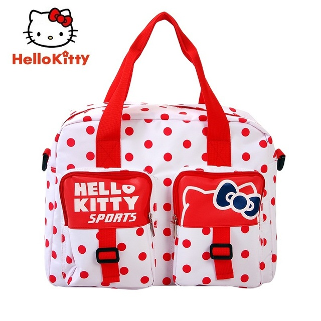 81a301a7f8e9 Hello Kitty Women Sports Backpacks Girl New Running Bag White Carry bag  Book Bag Cute Outdoor School HHF64645