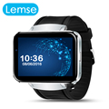 LEMSE LEM4 Smart Watch Clock Android 4.4 MTK6572 Dual Core Bluetooth 4.0,WIFI Nano Sim card with Camera Smart Phone for Android