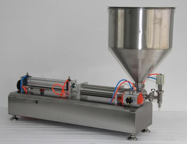 5-100ml Fully Pneumatic Paste Filling Machine Pneumatic With Single Cylinder Piston Shampoo Cream Sauce Lotion Oil Filler  1