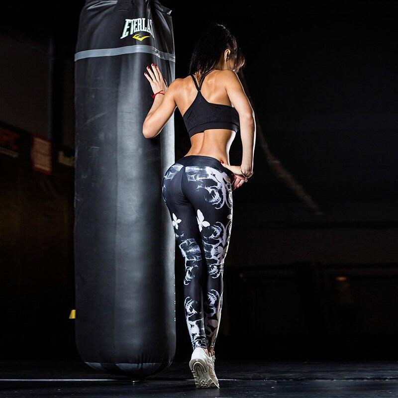 YD New Girls Printed Long Yoga шалбар Әйелдер Спорт - Спорттық киім мен керек-жарақтар - фото 3